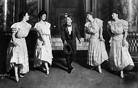 0172566 © Granger - Historical Picture ArchiveGEORGE M. COHAN (1878-1942).   George Michael Cohan. American actor, playwright and producer. Cohan in a scene from his play, 'George Washington, Jr.' at the Herald Square Theater in New York City, c1906.