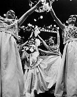 0172609 © Granger - Historical Picture ArchiveMEXICAN FOLK DANCERS, c1970.   A Tonalteca wedding in the folk ballet, 'Chiapas,' performed by the Ballet Folklorico de Mexico de Amalia Hernandez, c1970.
