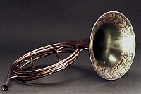 0038115 © Granger - Historical Picture ArchiveFRENCH HORN, 1826.   French Horn made by Marcel Auguste Rauox, Paris, c1826.