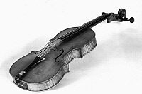 0123619 © Granger - Historical Picture ArchiveVIOLIN, 18th CENTURY.   19th century reproduction of an 18th century Austrian violin.