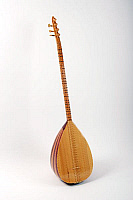 0396284 © Granger - Historical Picture ArchiveMUSICAL INSTRUMENT.   Saz, Turkish string instrument with a long neck and bowl shaped back and movable frets. Full credit: Chris Stock / Lebrecht Music & Arts / Granger, NYC -- All Rights Reserved.