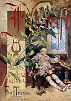 0023433 © Granger - Historical Picture ArchiveVERDI E IL FALSTAFF.   Cover of