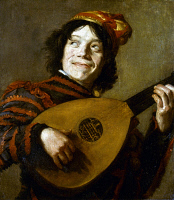 0046059 © Granger - Historical Picture ArchiveLEYSTER: THE JESTER.   Judith Leyster (1609-1660): The Jester. Oil on canvas.