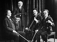 0097315 © Granger - Historical Picture ArchiveFLONZALEY QUARTET.   American string quartet. Photograph, early 20th century.