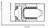 0114541 © Granger - Historical Picture ArchiveKENNEDY CENTER PLAN.   Plan of the concert hall of the Kennedy Center for the Performing Arts in Washington, D.C., opened in 1971 (box tier level).