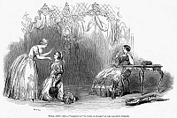 0015254 © Granger - Historical Picture ArchiveOPERA: MARRIAGE OF FIGARO.   Jenny Lind as Susanna in a London, England, production of Wolfgang Amadeus Mozart's 'Marriage of Figaro,' 1848. Contemporary line engraving.