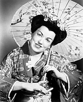 0078002 © Granger - Historical Picture ArchiveOPERA: MADAME BUTTERFLY.   American soprano Eileen Farrell in the role of Cio Cio San from Puccini's opera 'Madame Butterfly.'