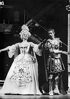 0125468 © Granger - Historical Picture ArchiveOPERA: FORZA DEL DESTINO.   Scene from a 1964 production of Giuseppe Verdi's opera 'La Forza del Destino.'