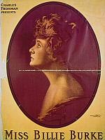 0108166 © Granger - Historical Picture ArchiveBILLIE BURKE (1884-1970).   American actress. Lithograph poster, early 20th century.