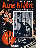 0031464 © Granger - Historical Picture ArchiveSONGSHEET: JUNE NIGHT 1924.   American sheet music cover of June Night, a 1924 fox trot composition.