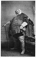 0047192 © Granger - Historical Picture ArchiveMERRY WIVES OF WINDSOR.   Sir Herbert Beerbohm Tree as Falstaff.