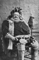 0061785 © Granger - Historical Picture ArchiveMERRY WIVES OF WINDSOR.   William H. Craus as Falstaff in the play by Shakespeare.
