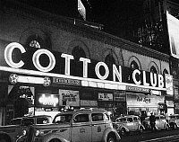 0096853 © Granger - Historical Picture ArchiveHARLEM: COTTON CLUB, 1930s.   View of the Cotton Club in Harlem, New York, 1930s.