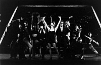 0123563 © Granger - Historical Picture ArchiveMUSICAL: CHICAGO, 1975.   Bebe Neuwirth in a scene from the Broadway production, 1975, of the musical 'Chicago' by John Kander, Fred Ebb and Bob Fosse, directed by Walter Bobbie. Photograph by Dan Chevkin.