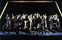 0123564 © Granger - Historical Picture ArchiveMUSICAL: CHICAGO, 1975.   Bebe Neuwirth and company in the Broadway production of the musical 'Chicago,' 1975, by John Kander, Fred Ebb, and Bob Fosse, directed by Walter Bobbie. Photograph by Dan Chavkin.