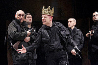 0381626 © Granger - Historical Picture ArchiveTHEATER PERFORMANCE.    William Shakespeare's play 'Richard III' - Jonathan Slinger as title character in a Royal Shakespeare Company production at the Courtyard Theatre, Stratford-Upon-Avon, UK. January 2007. Full credit: Tristram Kenton / Lebrecht Music & Arts / Granger, NYC -- All rights reserved