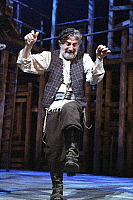 0382281 © Granger - Historical Picture ArchiveTHEATER PERFORMANCE.    'Fiddler On The Roof' - performance of the musical at the Savoy Theatre, London, UK, May 2007. Shown: Henry Goodman as Tevye. Music by Jerry Bock. Lyrics by Sheldon Harnick. Book by Joseph Stein. Full credit: Tristram Kenton / Lebrecht Music & Arts / Granger, NYC -- All right