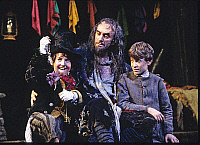 0382821 © Granger - Historical Picture ArchiveTHEATER PERFORMANCE.    'Oliver!' - with Jonathan Pryce as Fagin. Production at the London Palladium, opened 8 December 1994. Musical by Lional Bart based on Charles Dicken's novel Oliver Twist. Full credit: Tristram Kenton / Lebrecht Music & Arts / Granger, NYC -- All rights reserved.