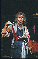 0382824 © Granger - Historical Picture ArchiveTHEATER PERFORMANCE.    Jim Dale - as Fagin in 'Oliver!' Production at the London Palladium, September 1995. Musical by Lional Bart based on Charles Dicken's novel Oliver Twist. Full credit: Tristram Kenton / Lebrecht Music & Arts / Granger, NYC -- All Rights Reserved.
