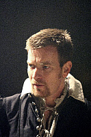 0403022 © Granger - Historical Picture ArchiveTHEATER PERFORMANCE.    Ewan McGregor (Iago) in 'Othello' at Donmar Warehouse, London, 4 December 2007. Directed by Michael Grandage. 'Othello' by William Shakespeare c.1603. WS: English playwright 1564 - 1616. Full credit: Tristram Kenton / Lebrecht Music & Arts / Granger, NYC -- All rights reserve
