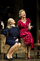 0403070 © Granger - Historical Picture ArchiveTHEATER PERFORMANCE.    'Flare Path' by Terence Rattigan, at the Theatre Royal Haymarket, London. Scene with Sienna Miller (as Patricia) and Sheridan Smith (as Doris). Opening 10 March 2011. Full credit: Tristram Kenton / Lebrecht Music & Arts / Granger, NYC -- All rights reserved.