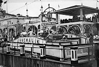 0105843 © Granger - Historical Picture ArchiveCONEY ISLAND: CAKE WALK.   The 'Cake Walk' ride at Dreamland or Luna Park amusement park, Coney Island, Brooklyn, New York. Photograph, c1910-1915.