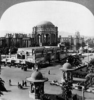 0172708 © Granger - Historical Picture ArchivePANAMA-PACIFIC EXPOSITION.   The Palace of Fine Arts at the Panama-Pacific Exposition in San Francisco, California. Stereograph, 1915.
