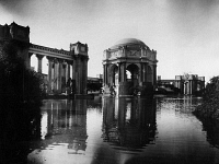 0172713 © Granger - Historical Picture ArchivePANAMA-PACIFIC EXPOSITION.   The Palace of Fine Arts from across the Fine Arts Lagoon, at the Panama-Pacific Exposition in San Francisco, California. Photograph, 1915.