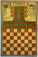 0172938 © Granger - Historical Picture ArchiveWORLD WAR I: BOARD GAME.   'The Great War Game.' American board game by Strat, 1915.
