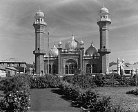 0124052 © Granger - Historical Picture ArchiveKENYA: NAIROBI MOSQUE.   A view of the Indian mosque in Nairobi, Kenya. Photographed in 1936.