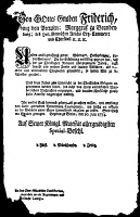 0067514 © Granger - Historical Picture ArchiveJUDAISM: CONVERSION EDICT.   An edict about the conversion of Jews to Christianity, issued by Frederick the Great, King of Prussia in 1774, which demanded proof of true belief rather than self-seeking reasons.