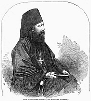 0097616 © Granger - Historical Picture ArchiveGREEK ORTHODOX PRIEST.   Line engraving, 1853, after a calotype by Roger Fenton.
