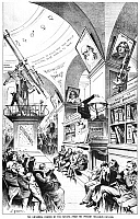 0037027 © Granger - Historical Picture ArchiveRELIGIOUS OUTLOOK, 1883.   'The Universal Church of the Future-From the Present Religious Outlook.' Lithograph cartoon by Joseph Keppler, 1883.