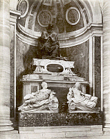 0071970 © Granger - Historical Picture ArchiveROME: POPE PAUL III.   Monument to Pope Paul III (Paolo), originally known as Alessandro Farnese. Photograph, c1890.
