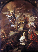0019917 © Granger - Historical Picture ArchiveGIORDANO: ST. JANUARIUS.   Oil on canvas, c1690, by Luca Giordano. RESTRICTED OUTSIDE US.