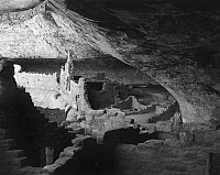 0258968 © Granger - Historical Picture ArchiveMESA VERDE: LONG HOUSE.   Long House ruins on Wetherill Mesa in Mesa Verde National Park, Colorado. Photograph by Fred Mang, Jr., c1975.