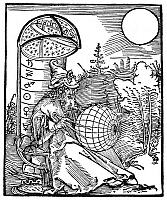 0075411 © Granger - Historical Picture ArchiveASTRONOMER, 1504.   The Arabian astronomer, Messahalah (c740-815). Woodcut by Albrecht Dürer from title page to Messahalah's 'De scientia motus orbis,' Nuremberg, Germany, 1504.