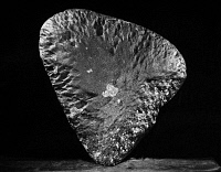 0172916 © Granger - Historical Picture ArchiveMILLER METEORITE.   Chondrite meteorite, known as the Miller meteorite, which fell in Arkansas in 1930.