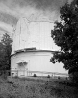 0351374 © Granger - Historical Picture ArchiveLOWELL OBSERVATORY.   The Clark Telescope Dome at the Lowell Observatory in Flagstaff, Arizona. Photograph, 1994.