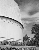 0351375 © Granger - Historical Picture ArchiveLOWELL OBSERVATORY.   The Clark Telescope Dome at the Lowell Observatory in Flagstaff, Arizona. Photograph, 1994.