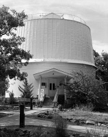 0351376 © Granger - Historical Picture ArchiveLOWELL OBSERVATORY.   The Clark Telescope Dome at the Lowell Observatory in Flagstaff, Arizona. Photograph, 1994.