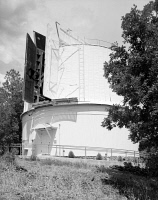 0351377 © Granger - Historical Picture ArchiveLOWELL OBSERVATORY.   The Clark Telescope Dome at the Lowell Observatory in Flagstaff, Arizona. Photograph, 1994.