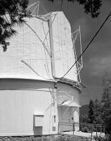 0351378 © Granger - Historical Picture ArchiveLOWELL OBSERVATORY.   The Clark Telescope Dome at the Lowell Observatory in Flagstaff, Arizona. Photograph, 1994.