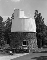 0351405 © Granger - Historical Picture ArchiveLOWELL OBSERVATORY.   The Pluto Dome at the Lowell Observatory in Flagstaff, Arizona. Photograph, 1994.