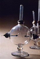 0023662 © Granger - Historical Picture ArchiveFARADAY: APPARATUS, c1834.   Michael Faraday's electrolysis apparatus, c1834. RESTRICTED OUTSIDE US.
