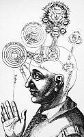 0015853 © Granger - Historical Picture ArchiveFLUDD: UTRIUSQUE COSMI.   Human mental abilities classified in terms of God and the universe. Line engraving from Robert Fludd's 17th-century treatise, 'Utriusque Cosmi.'