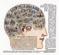 0008759 © Granger - Historical Picture ArchivePHRENOLOGY, 1867.   Advertisement for the 'American Phrenological Journal,' 1867.