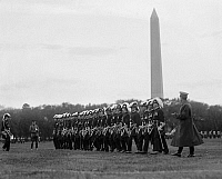 0132517 © Granger - Historical Picture ArchiveFREEMASON: KNIGHTS TEMPLAR.   Members of the Knights Templar Masonic Order marching in formation on annual field day in Washington, D.C., 21 October 1925.
