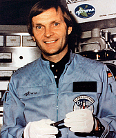 0183930 © Granger - Historical Picture ArchiveERNST MESSERSCHMID (1945-).   German astronaut and physicist. Photograph, 1984.