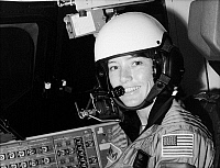0183976 © Granger - Historical Picture ArchiveANNA L. FISHER (1949- ).   American astronaut and chemist. Photographed in training at the Johnson Space Center, June 1980.